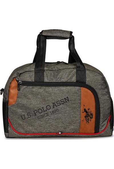 U.S. Polo Assn. Küçük Boy Duffle Çanta Taba 8372