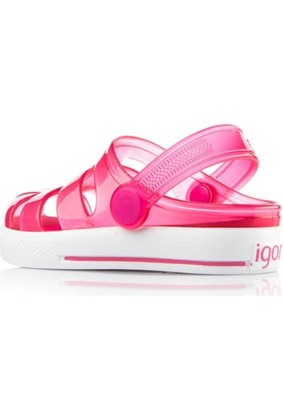 Igor S10196 Sport-O75 Fuşya Kız Çocuk Sandalet