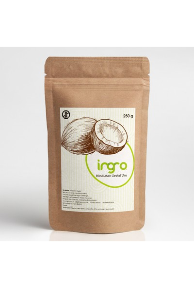 Ingro Glutensiz Hindistan Cevizi Unu 250 g