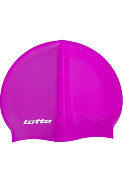 Lotto M6884 Fuşya Swimcap Aqua Silikon Bone Fuşya