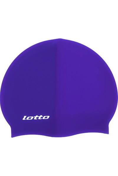 Lotto M6886 Lacivert Swimcap Aqua Silikon Bone Lacivert
