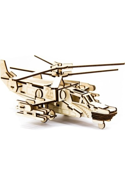 Miko D3D Model Helicopter Hokum-A