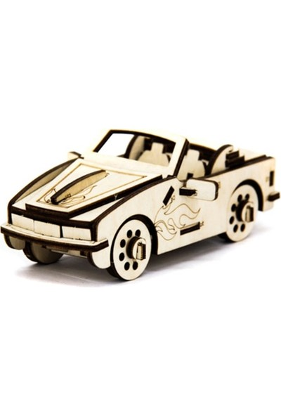 Miko D3D Model Cabriolet