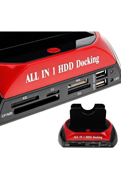 Triline Usb 2.0 Docking Combo 2.5 / 3.5 Ide Sata Hdd Station