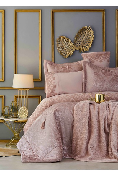 Karaca Home Valeria Delux Rose Gold King Size Çeyız Seti