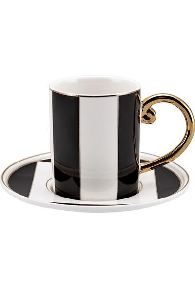 Karaca Tetragon 6 Kişilik Kahve Fincan Takımı