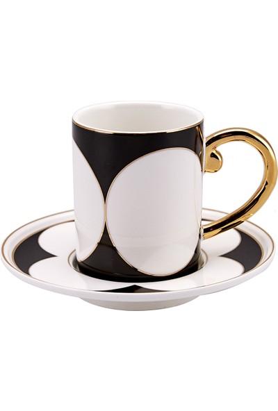 Karaca Omnigon 6 Kişilik Kahve Fincan Takımı
