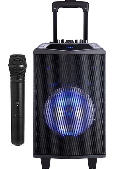 Oyility Dk-8i Karaoke Mikrofonlu Taşınabilir Hoparlör Ses Sistemi 200 Watt