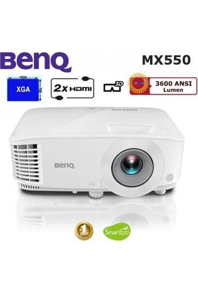BenQ MX550 3600 ANSI lümen 1024x768 XGA 3D DLP Projeksiyon Cihazı