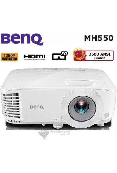 BenQ MH550 3500 ANSI lümen 1920x1080 Full HD 3D DLP Projeksiyon Cihazı