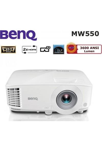 BenQ MW550 3600 ANSI lümen 1280x800 WXGA 3D DLP Projeksiyon Cihazı