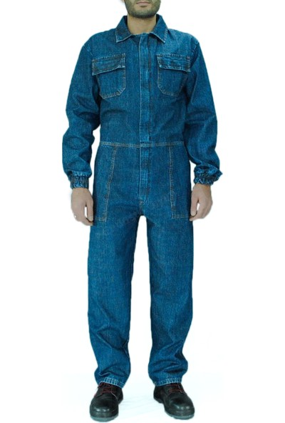 Şensel Kot İş Tulumu Boy Tulum İş Elbisesi