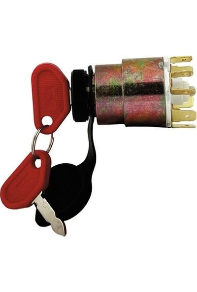Aksa Marşlı Kontak Anahtarı Muht.Traktör İçin Cıvı An
