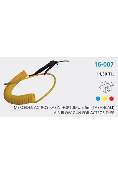 Aksa Kabin Hortumu Tabancalı Sarı 5 5Mm Actros