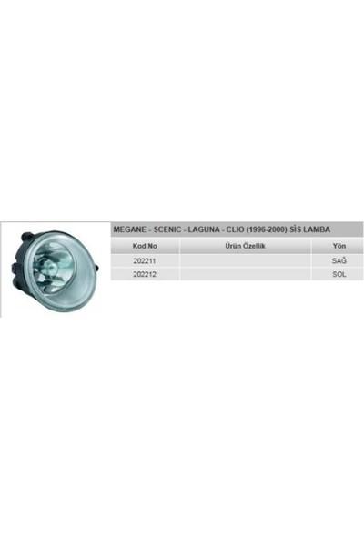 Ayfar Sis Lambası Sol Renault Megane Scenıc Laguna Clio Ym 96 00 Ayf 202212