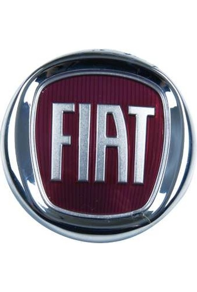 """Ayhan Arka Tek Kapı Bordo Renklı """"Fiat"""" Arma Cap 85 Mm Fiat Doblo 08 Ayh A6927"""