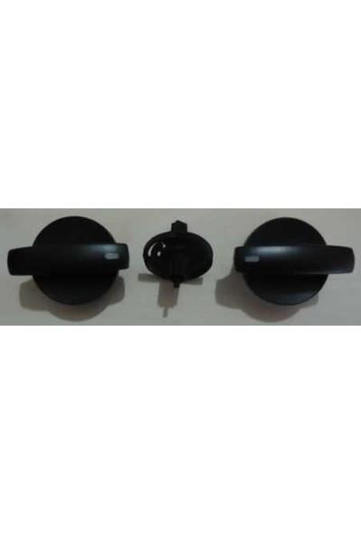 Barcha Kalorifer Klima Kontrol Düğme Takımı Transporter T5 0310 7H0819045F
