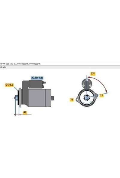 Bosch Marş Motoru Golf V Jetta Passat 2 0 Tdı 03