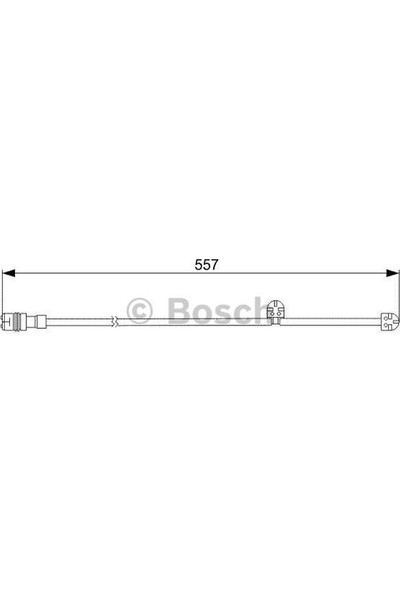 Bosch Disk Balata İkaz Kablosu 560Mm 911 3.6 Carrera 4S 03