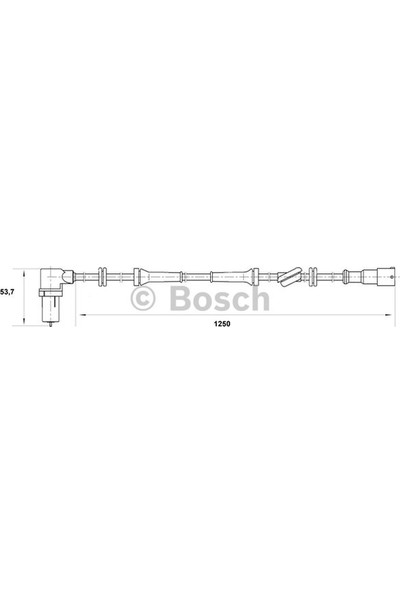 Bosch Fiat Siena Abs Sensörü 46434529