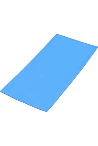 Kuvars Termal Pad Ped Işlemci Soğutucu Silikon 10 cm x 20 cm Kalınlık 1 mm