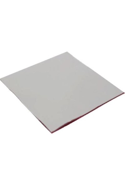 Kuvars Termal Pad Ped Işlemci Soğutucu Silikon 5 cm x 5 cm Kalınlık 3 mm Gri