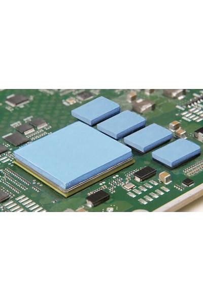 Kuvars Termal Pad Ped Soğutucu Silikon Pad 1.5 mm Kalınlık 2 x 2 cm 10 Adet