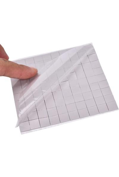 Kuvars Termal Pad Ped Soğutucu Silikon Pad 3 mm Kalınlık 2 x 2 cm 10 Adet