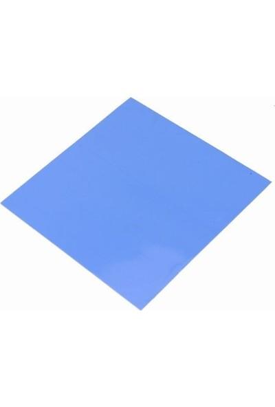 Kuvars Termal Pad Ped Işlemci Soğutucu Silikon 5 cm x 5 cm Kalınlık 2 mm Mavi