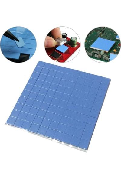 Kuvars Termal Pad Ped Soğutucu Silikon Pad 1.5 mm Kalınlık 2 x 2 cm 2 Adet