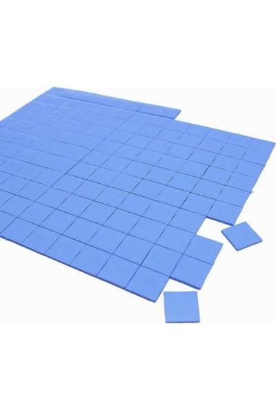 Kuvars Termal Pad Ped Soğutucu Silikon Pad 1.5 mm Kalınlık 2 x 2 cm 50 Adet