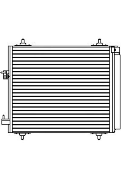 J.Deus Klima Radyatörü Citroen C2 C3 C3 Plurıel Jde 707M54
