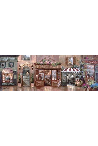Art Puzzle 1000 Parça Panorama Cafe Walk I Puzzle