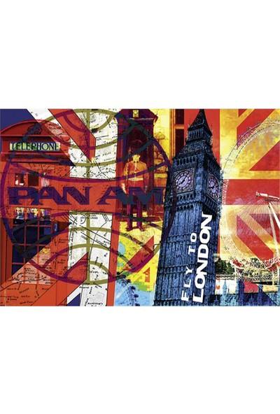 Schmidt Puzzle 1000 Parça Fly to London PanAm