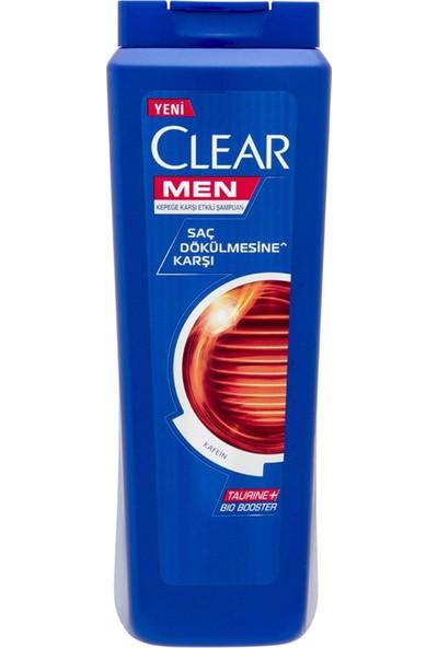 Clear Men Şampuan Saç Dökülmesine Karşı Etkin Şampuan 500 ML