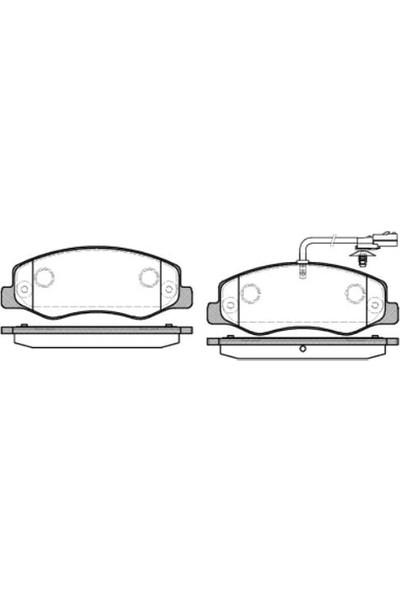 Mga Arka Fren Disk Balata Çift Teker Renault Master III 2.3Dcı 09 Karsan Jest Mga 55148