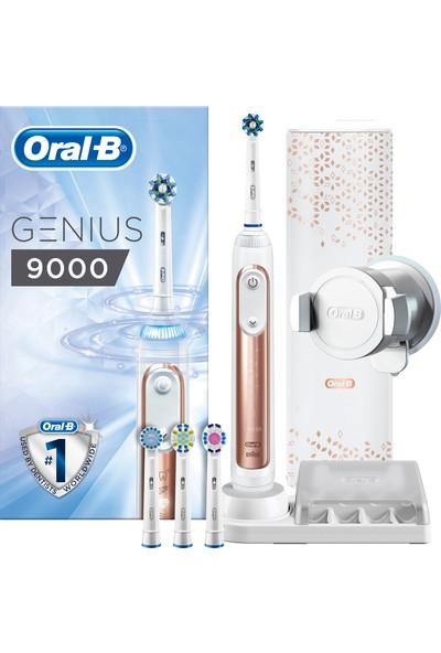 Oral-B Genius 9000 Rosegold Şarj Edilebilir Diş Fırçası