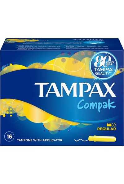Discreet Tampax Normal 16 Adet Tampon