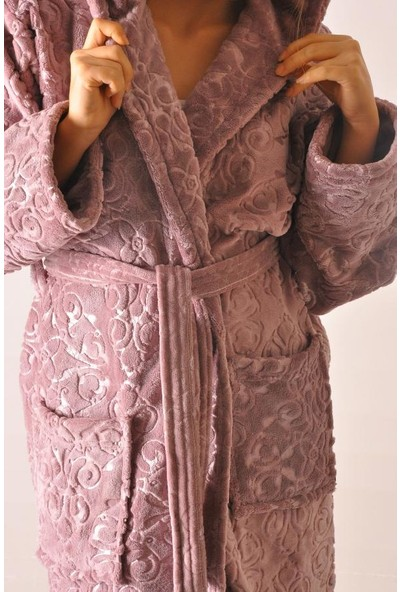 Elite Bambo Bayan Lila Welsoft Bornoz Elt2-2