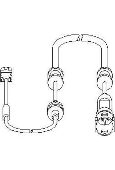 Topran Balata İkaz Kablosu Ön Opel Vectra C 02 Vectra C Gts 02 Sıgnum 03 Tpr 206946755