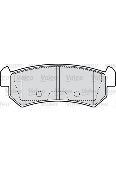 Valeo Disk Fren Balatası Arka Chevrolet Lacetti 1.4İ 1.6İ 1.8İ