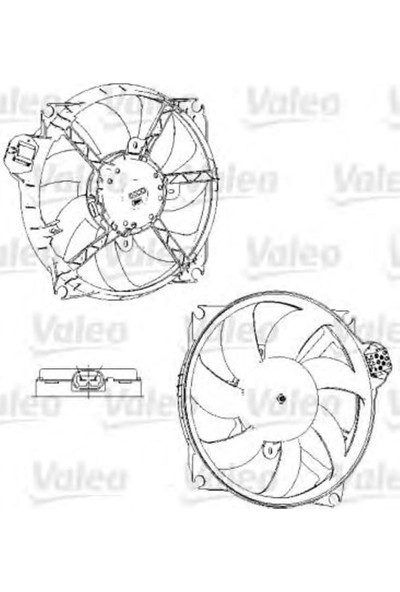 Valeo Fan Motoru Meganescenıc III All Range