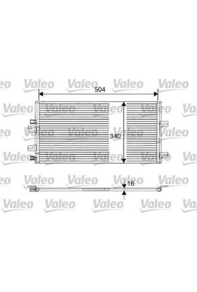 Valeo Kondenser Klima Sistemi Kangoo 1.5