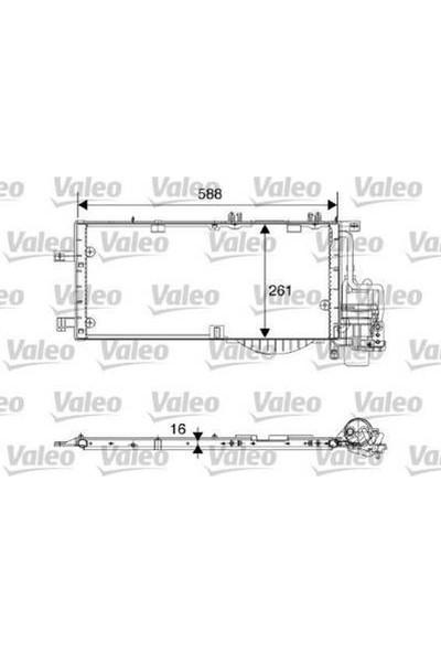 Valeo Kondenser Klima Sistemi Corsa Vauxhall Corsa