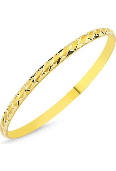 Sembolgold Altın Hediyelik Bilezik Baklama Modeli Blz5620655