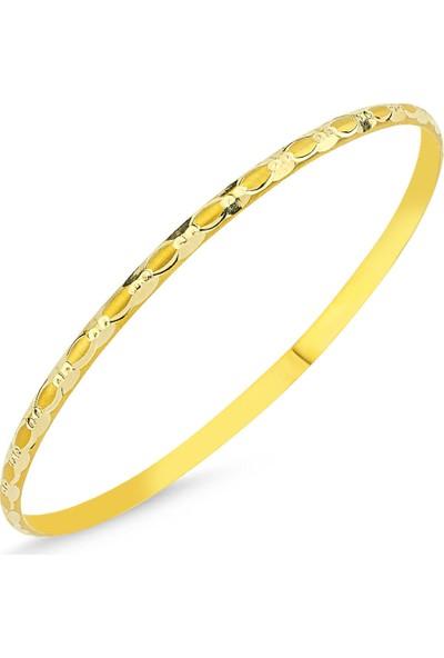 Sembolgold Altın Hediyelik Tel Bilezik Burgu Modeli Blz5620658