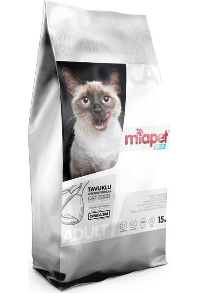 Miapet Eco Tavuklu Yetişkin Kedi Maması 15 kg