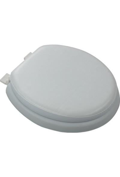 Softy Comfort Lüks Süngerli Klozet Kapağı Beyaz