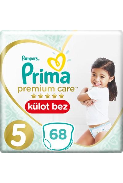 Prima Premium Care Külot Bebek Bezi 5 Beden Junior Süper Fırsat Paketi 68 Adet