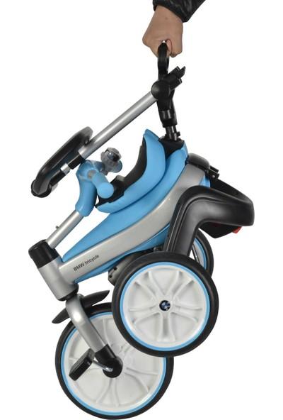 Kraft Bmw Katlanır İtmeli Bisiklet - Mavi